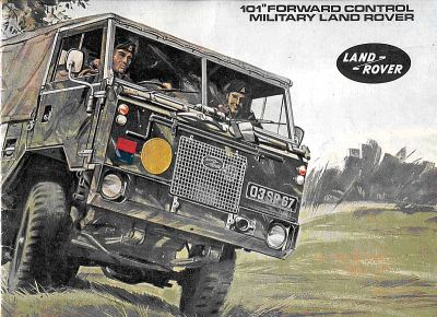 Land rover forward control 101 info